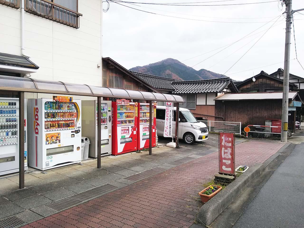 垣田商店駐車場